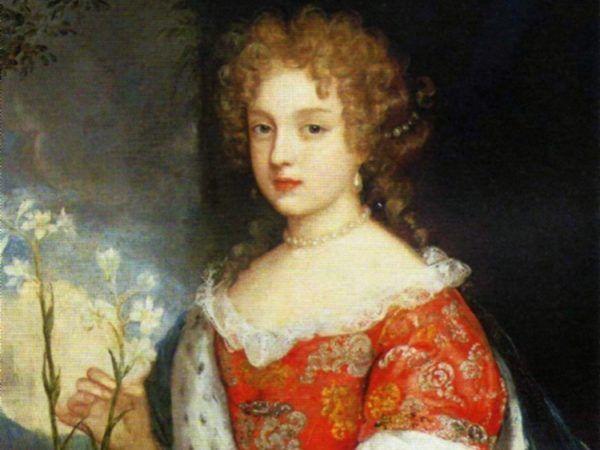 Ta urocza dziewczynka to Ludwika Karolina Radziwiłłówna. Kto by pomyślał, do jakich niegodziwości była zdolna... (źródło: domena publiczna).