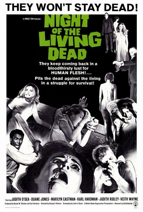 Film Romero stał się prawdziwą klasyką gatunku (źródło: domena publiczna).