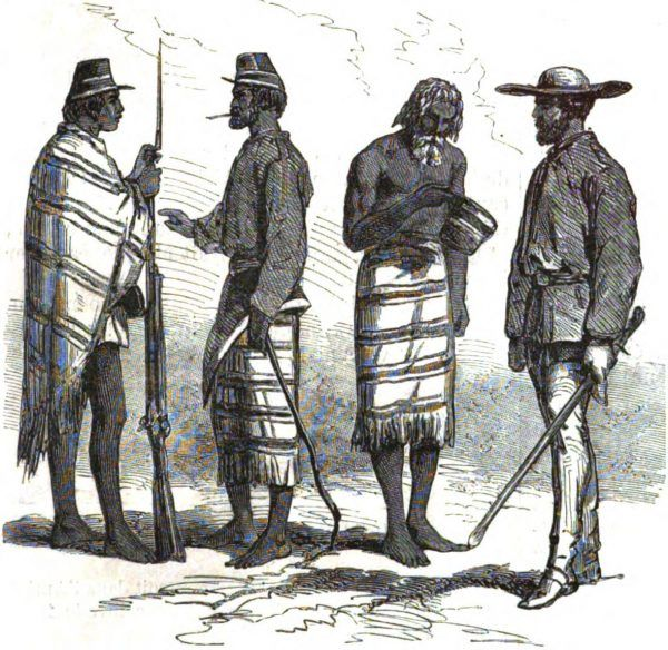 Paragwajscy żołnierze. Jak widać, nie służyli w armii bogatego państwa (il. domena publiczna).