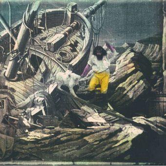 Czy słynny rozbitek Robinson Crusoe mógł walczyć z zombie? Okazuje się, że tak! (źródło: domena publiczna).