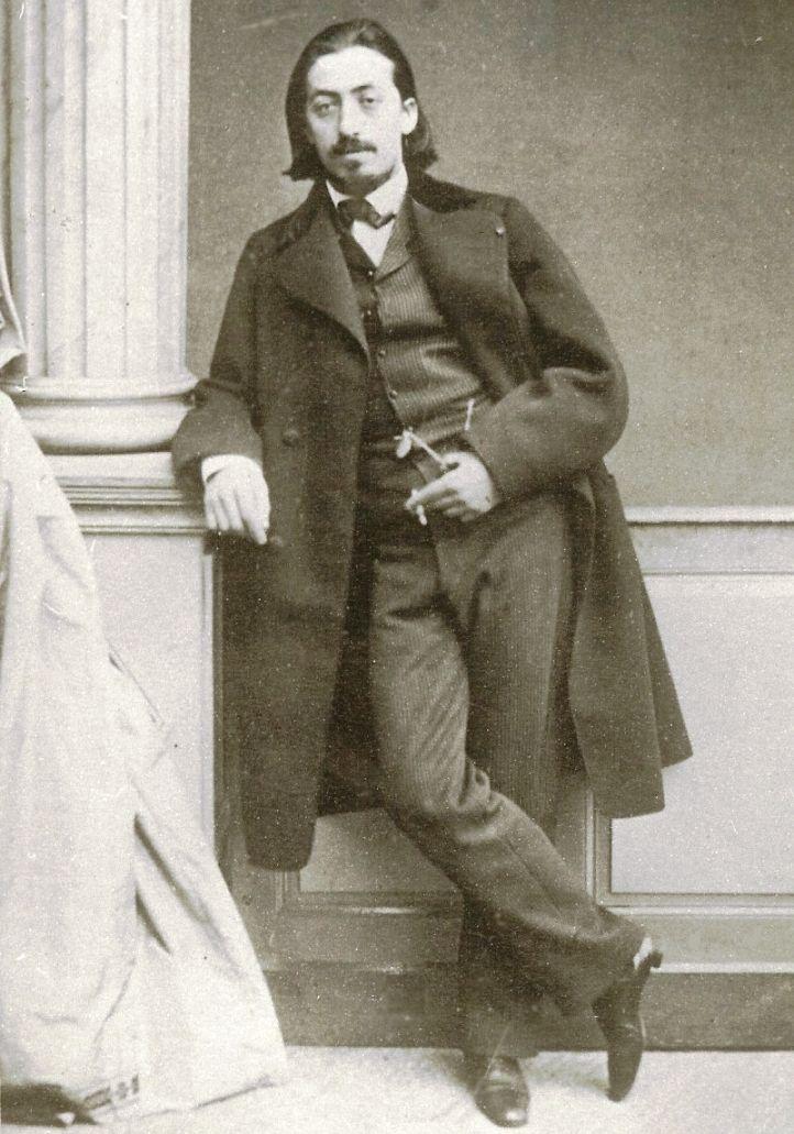 """O Henryku Wieniawskim mówi się, że to """"drugie wcielenie Paganiniego"""" (źródło: domena publiczna)."""