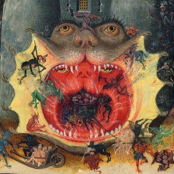 Straszliwe usta jako wrota do piekielnych czeluści... Tylko że nie wszyscy w nie wierzyli. Godzinki Katarzyny Kliwijskiej z ok. 1440 roku (źródło: domena publiczna).