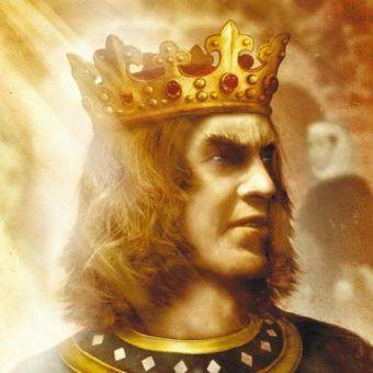 """Fragment okładki """"Trucizny królewskiej"""", jednej z powieści Maurice'a Druona."""