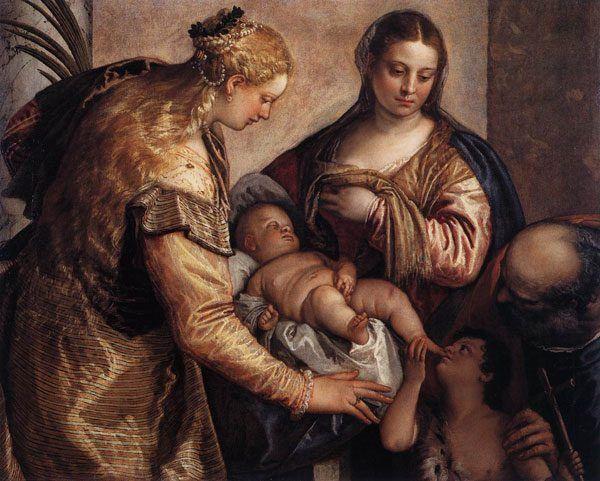 Jak różne było ówczesne podejście do seksualności dziecka niech świadczy fakt, że nawet na religijnym obrazie z 1570 roku pędzla Paolo Veronese'a mały Jezus dotyka swoich genitaliów (źródło: domena publiczna).