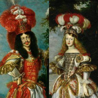 Cesarz Leopold I i jego żona. Oraz siostrzenica. Oraz kuzynka... Wszystko w jednej osobie, jak przystało na wsobną rodzinę.