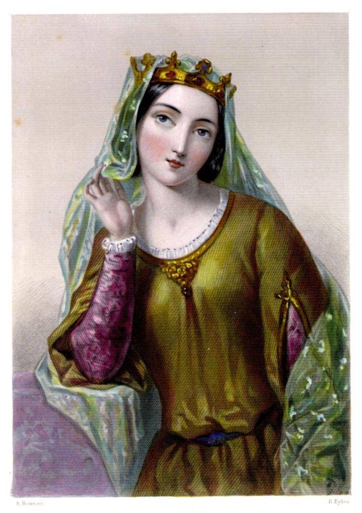 A całe to zamieszanie wynikało z tego, że król zapragnął 12-letniej Izabeli, wicehrabianki Angouleme (źródło: domena publiczna).