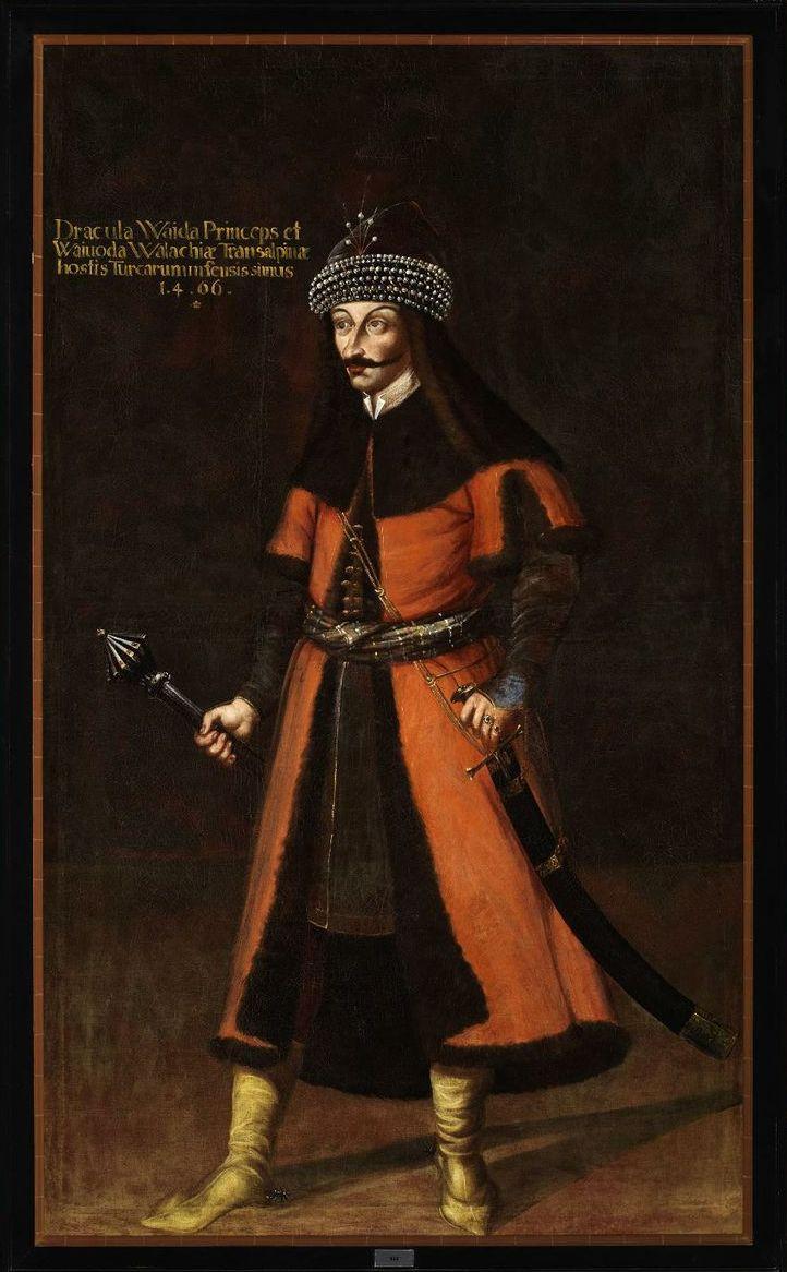Wład Palownik na XVII-wiecznym obrazie (źródło: domena publiczna).