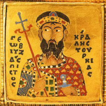 Gejza I, król Węgier. Prawdopodobnie to jego żona przywiozła z Bizancjum prawdziwego władcę Madziarów (źródło: domena publiczna).