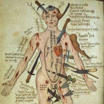 W średniowieczu wierzono, że człowiek odczuwa ból długo po śmierci. Dlatego oprócz tortur przedśmiertnych, znęcano się też nad zwłokami! (źródło: domena publiczna).