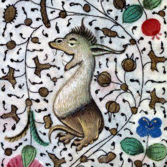 On cieszy się już na wakacje. A Wy? Godzinki z Sabaudii z XV wieku (źródło: domena publiczna).