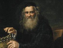 Na naszej liście nie mogło zabraknąć Abrahama Sterna, jednego z ojców cybernetyki (źródło: domena publiczna).