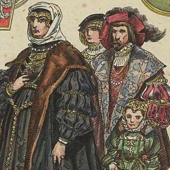 Czy Bona naprawdę korzystała z czarnej magii? Na ilustracji fragment rysunku Jana Matejki (źródło: domena publiczna).