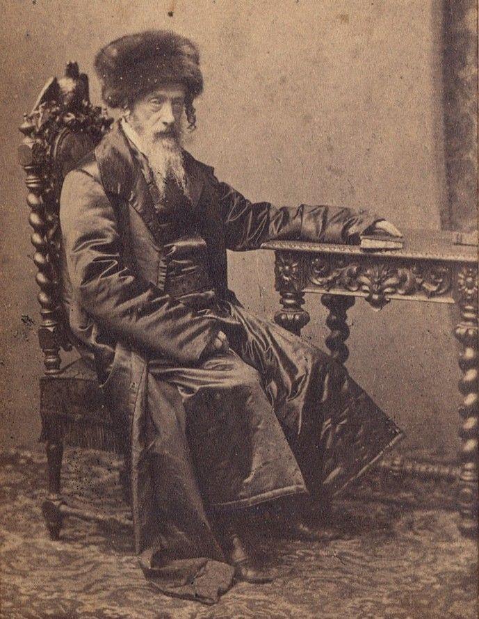 Rabin Dow Ber Meisels był prawdziwym polskim patriotą (fot. Karol Beyer; źródło: domena publiczna).