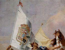 Giovanni Battista Tiepolo, Zamek Królewski w Madrycie (źródło: domena publiczna).