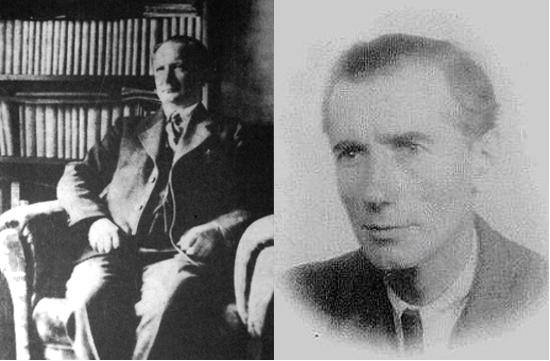 Paweł Hulka-Laskowski (po lewej) i Jerzy Braun (po prawej) byli jedynymi z nielicznych, którzy już na początku lat 30. widzieli w Hitlerze zagrożenie.