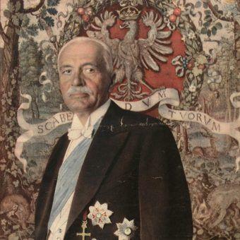 Prezydent Mościcki kochał wystawne życie (źródło: domena publiczna).