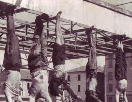Rozprawa z faszystami była krwawa (fot. Renzo Pistone; llic. domena publiczna).