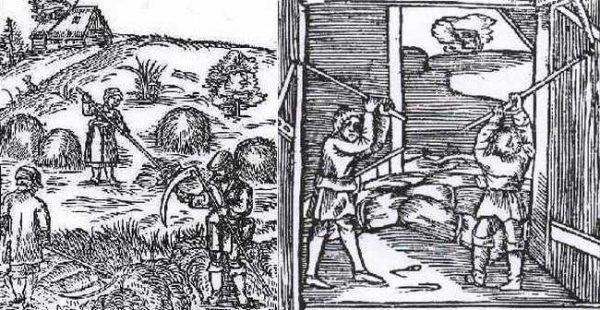 Wbrew temu co może się nam wydawać, w XVI wieku również chłopi zyskiwali na dobrej koniunkturze gospodarczej (źródło: domena publiczna).