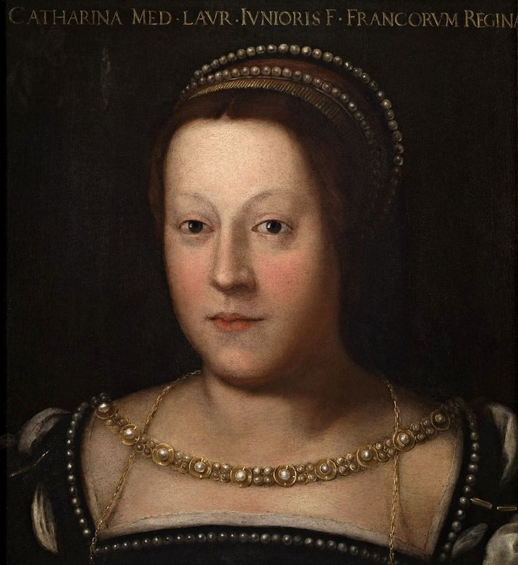 Naturalne metody przyspieszenia zajścia w ciążę omal nie przyspieszyły... zgonu królowej Francji Katarzyny Medycejskiej. Obraz Cristofano dell'Altissimo (źródło: domena publiczna).