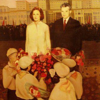 """Patologiczna """"matka i ojciec narodu"""" - państwo Ceausescu (autor zdjęcia: RaLaura, źródło: flickr)."""