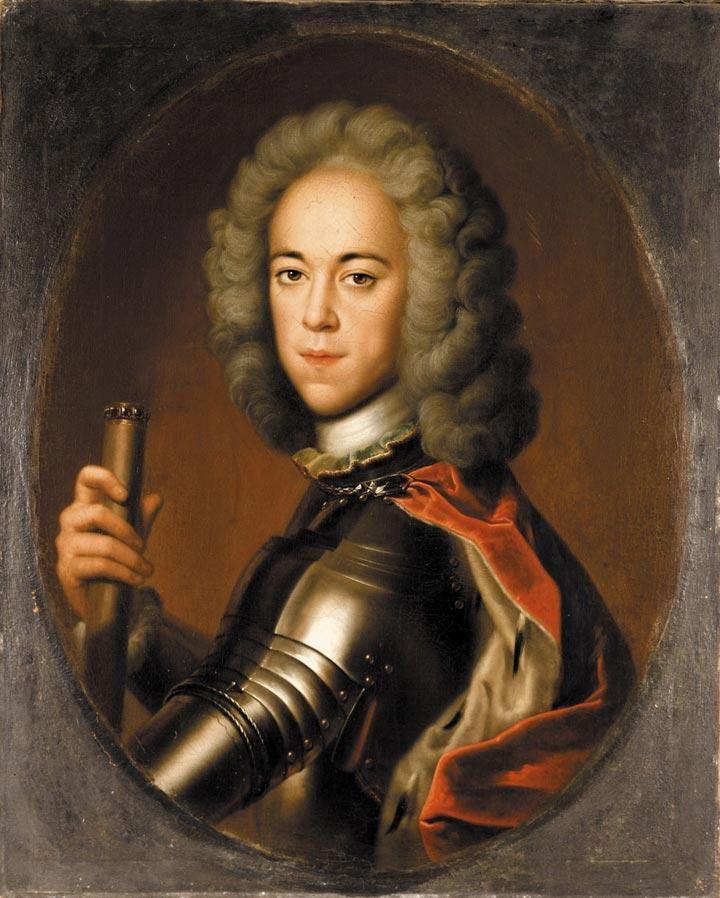 Aleksy mając do wyboru podporządkowanie się ojcu albo pójście do klasztoru... wybrał ucieczkę. Portret carewicza pędzla Christopha Bernharda Francke (źródło: domena publiczna).
