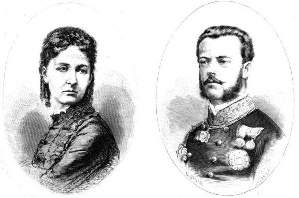 Maria Wiktoria i Amadeusz mieli przejść do historii nie tylko jako małżeństwo ponad podziałami klasowymi. Ich ślub kosztował życie niejednej zaangażowanej osoby... Ilustracja z 1870 roku (źródło: domena publiczna).