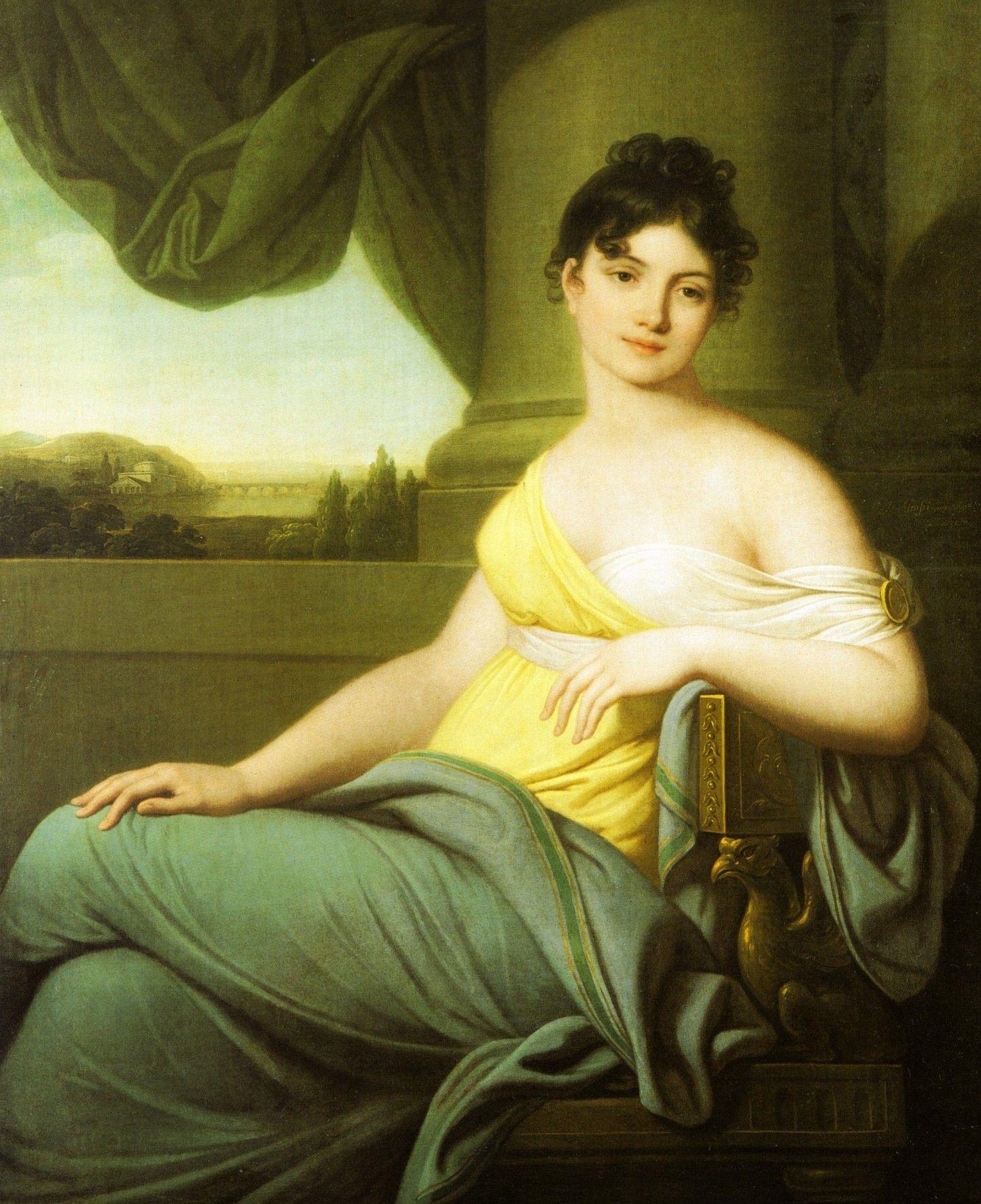 Polska ulubienica cara Aleksandra na obrazie Josefa Marii Grassi (źródło: domena publiczna).
