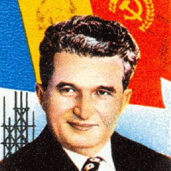 Nicolae Ceauşescu uwierzył, że jest Bogiem. Na zgubę własnego narodu... (domena publiczna).