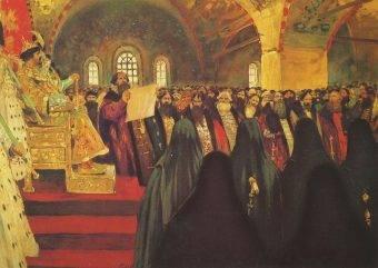 W roku 1613 delegaci Soboru Ziemskiego przybyli do Monasteru Ipatiewskiego w Kostrowie, żeby zawiadomić Michała Romanowa, że został wybrany na cara.