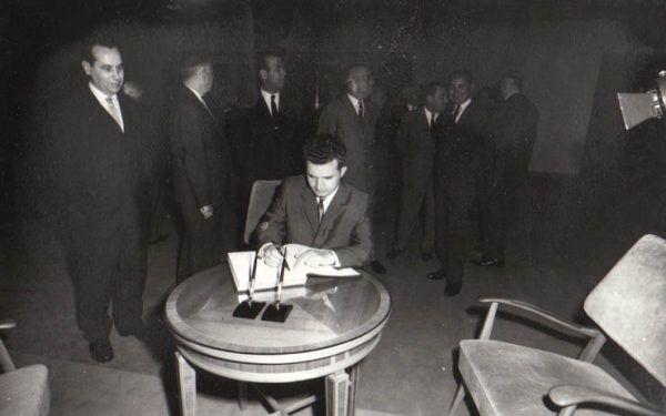Ceaușescu chciał osobiście decydować o życiu wszystkich obywateli Rumunii (źródło: Fototeca online a comunismului românesc).