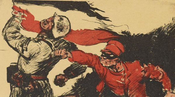 """Hitler oraz jego poplecznicy z lubością odwoływali się do mitu """"ciosu w plecy"""" (źródło: domena publiczna)."""
