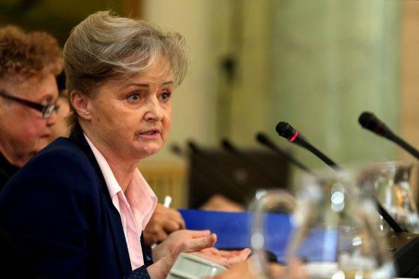 Grażyna Staniszewska w Pałacu Prezydenckim w 2014 roku (autor: Michał Józefaciuk, licencja: CC BY-SA 3.0).