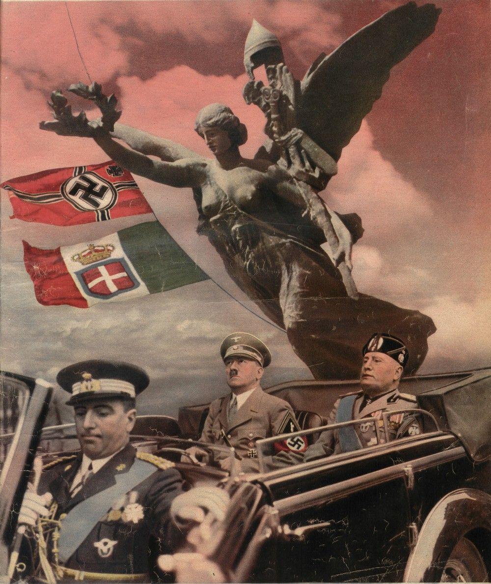 Po 1937 roku to już Mussolini miał kompleks niższości względem Hitlera (źródło: domena publiczna).