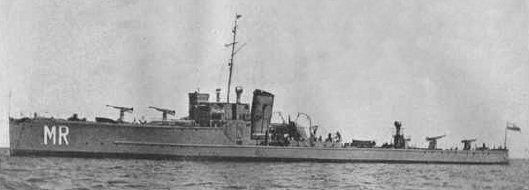 Szkolny okręt artyleryjski ORP Mazur w okresie 1935-1939