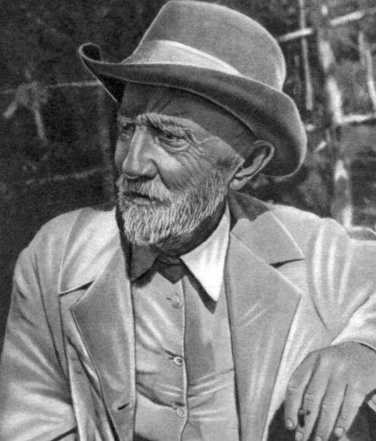 Prosty sadownik Iwan Miczurin został wielkim naukowcem. Miał szczęście, bo jego nietrafne hipotezy wpisywały się w główny nurt radzieckiej nauki... (domena publiczna).