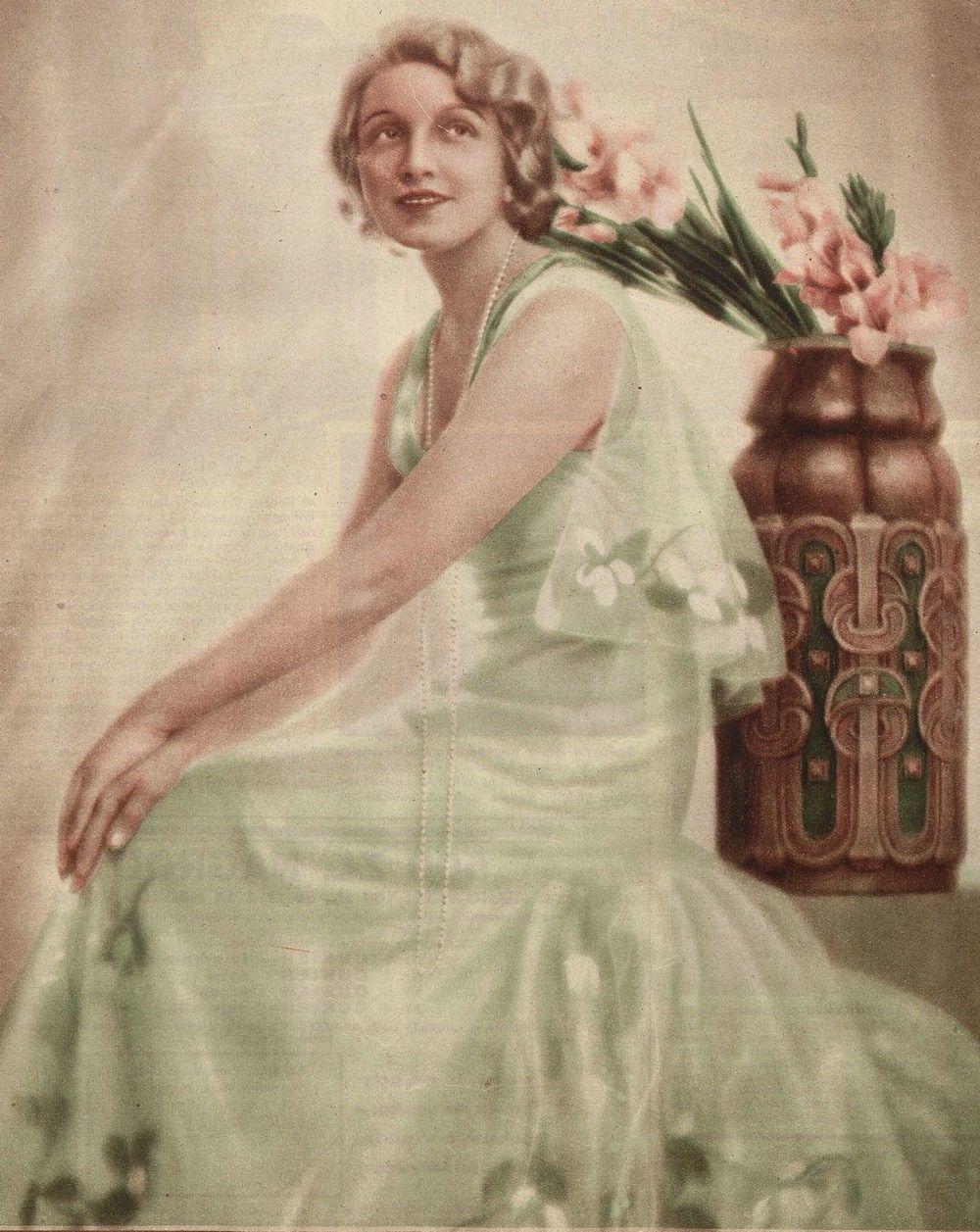 Pierwszą ambasadorką kosmetyków doktora Lustra była sama Ordonka (źródło: domena publiczna).