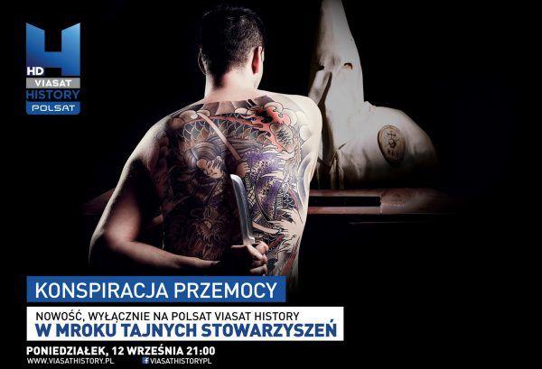 """""""W mroku tajnych stowarzyszeń"""" możecie zobaczyć w każdy poniedziałek o godzinie 21.00 na kanale Polsat Viasat History"""