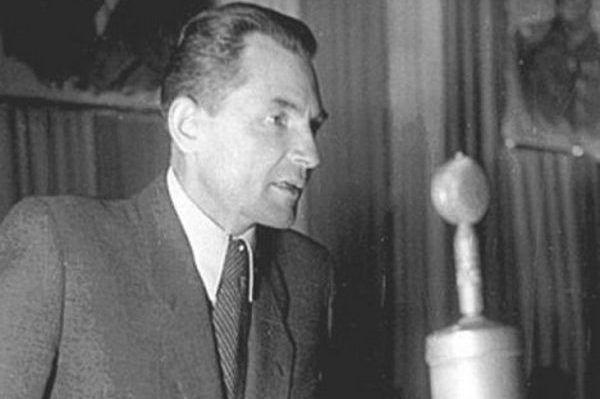 Stanisław Radkiewicz, szef Ministerstwa Bezpieczeństwa Publicznego w latach 1945–1954 (źródło: domena publiczna).
