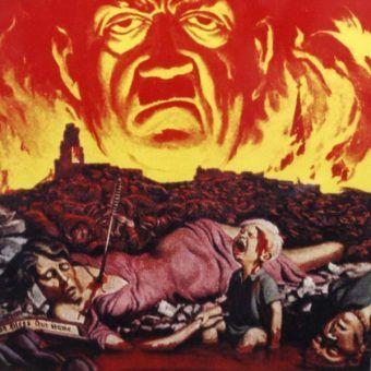 Czy można w ogóle policzyć ofiary II wojny światowej? Na ilustracji fragment amerykańskiego plakatu z okresu II wojny światowej (źródło: domena publiczna).