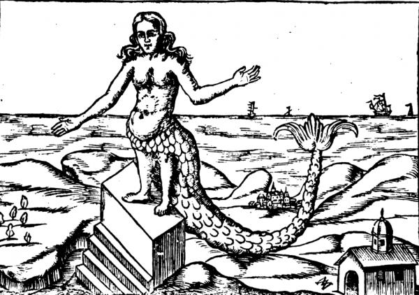 """Wizerunek bogini Atargatis z XVII-wiecznego """"Oedipus Aegyptiacus"""" Athanasiusa Kirchera. To właśnie jej małżonkiem ogłosił się Eunus (źródło: domena publiczna)."""