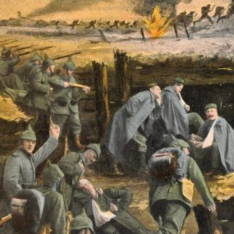 Wielka Wojna kosztowała życie ponad 9 milionów żołnierzy (źródło: domena publiczna).