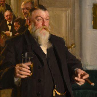 Typowy dyplomata przy pracy? Obraz autorstwa Andersa Zorna z 1892 roku (źródło: domena publiczna).