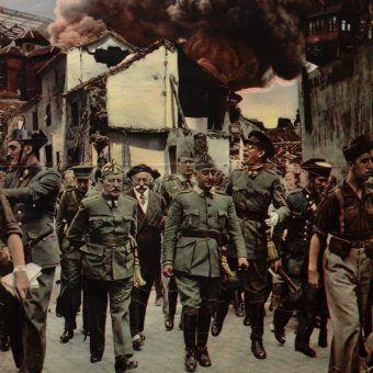 Generał Franko miał na sumieniu setki tysięcy ludzi (źródło: domena publiczna).