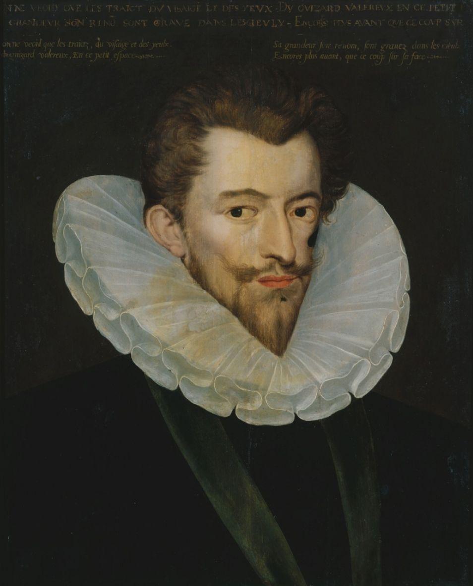Trudno się dziwić, że od zagranicznych, ułomnych władców, Margot wolała przystojnego księcia Henryka de Guise. Wizerunek 30-letniego Henryka z epoki (fot. L. Fdez, lic. CC BY-SA 2.1 es).