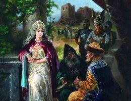 Bez Jarosława Mądrego plan rozbioru Polski nie doszedłby nigdy do skutku. Na ilustracji ruski władca w wyobrażeniu Aleksieja Trankowskiego (źródło: domena publiczna).