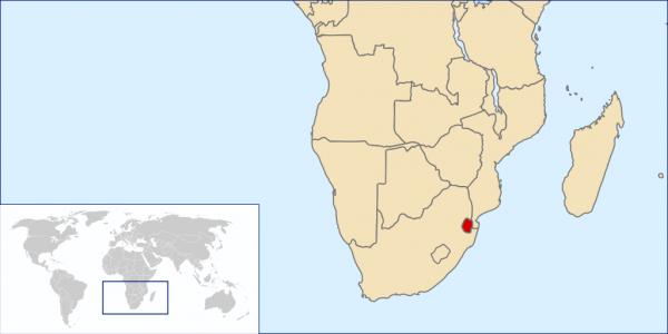 Suazi to niewielkie i biedne państwo graniczące z RPA i Mozambikiem. Nie przeszkadza to jednak władcy opływać w luksusy i przepuszczać państwowych pieniędzy na własne zachcianki (autor: Rei-artur; lic. CC-BY-SA-2.5).