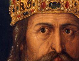 Karol Wielki w cesarskiej koronie. Czy Chrobry chciał pójść w jego ślady?