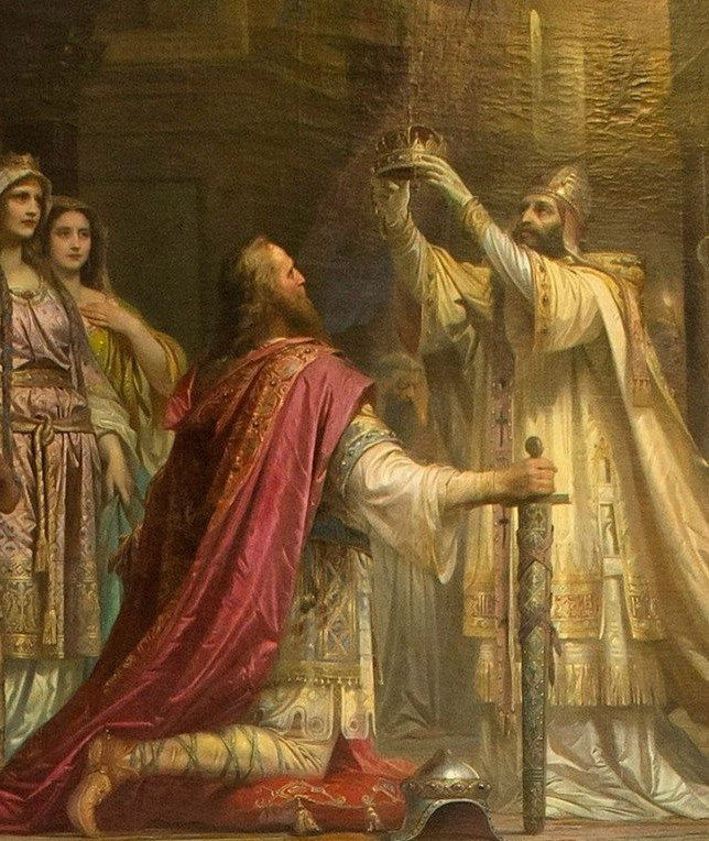 Cesarska koronacja Karola Wielkiego. Jak podobna uroczystość wyglądałaby w Poznaniu lub Gnieźnie?