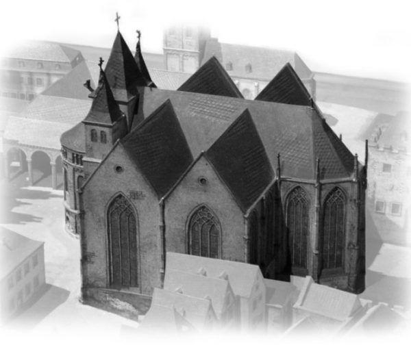 Kościół świętej Marii ad Gradus w Kolonii. To tutaj - wbrew jej woli - pochowano pierwszą polską królową.