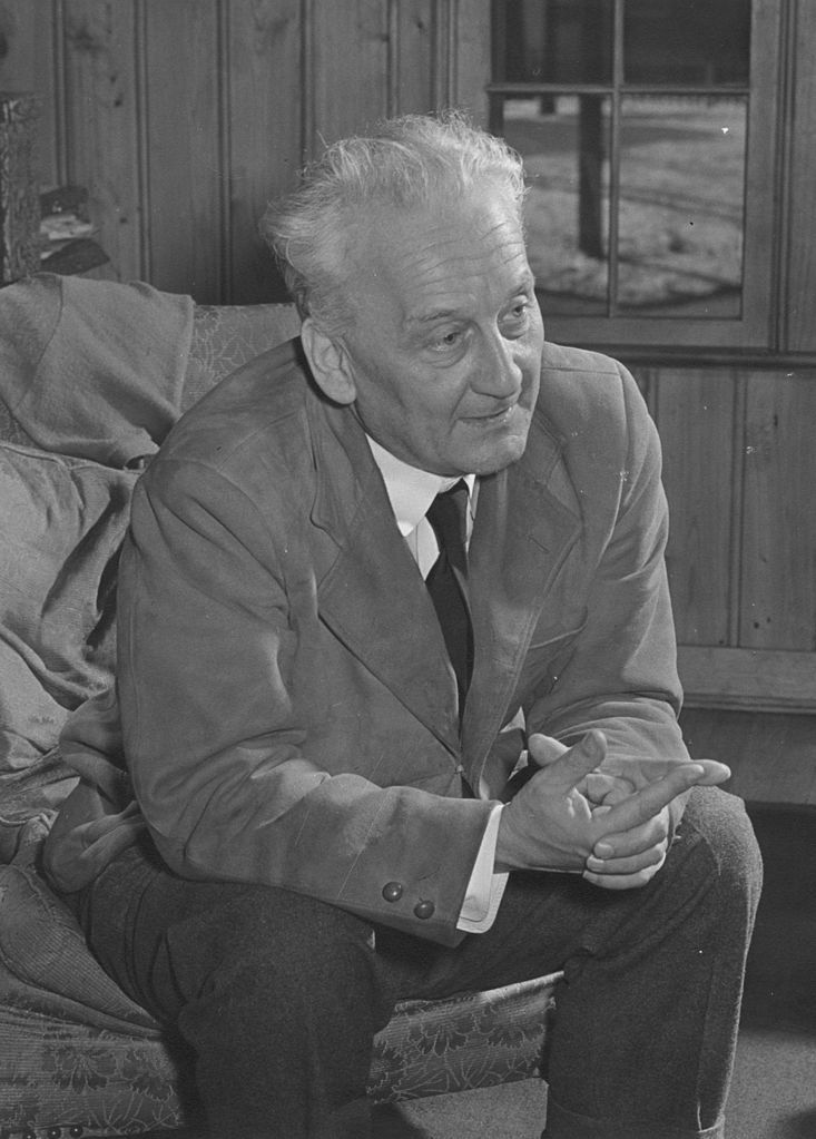 Albert Szent-Györgyi. Za swoje badania nad papryką otrzymał Nobla (fot. J.W. McGuire; lic. domena publiczna).